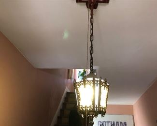 19th Century Hanging Fixture