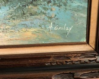 H. Gailey Oil Painting