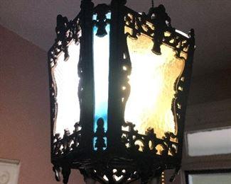Victorian hanging chandelier