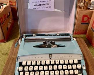 Wizard true type portable typewriter