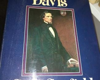 The iron will of Jefferson Davis by Canfield 1978 1st edition with dust Jacket   $20