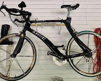 Item 174:  Kestrel KM 40 Airfoil Triathlon/Road Bike- Size 56: $850