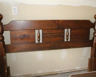 Picture 2 of 2 Full/Queen Head Board . . . Asking Price $30.00