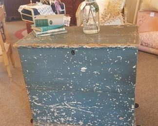 Vintage storage trunk - dates back to early 1900's