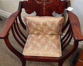 Vintage chair - Mahogany Throne