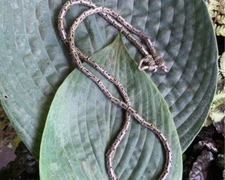 Bali Chain Link 16 SS 925 Necklace