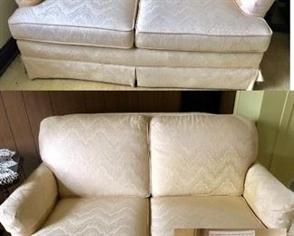 * 2 Matching LoveSeats made by The Sofa & Chair Company