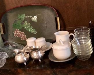 * Lots of Decorative Glass - Amber, Crystal, Cut Glass, Carnival Glass, Depression Glass and More