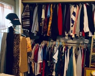 * Lots of Ladies Clothes, Hats, Shoes, Purses, Scarves and More.