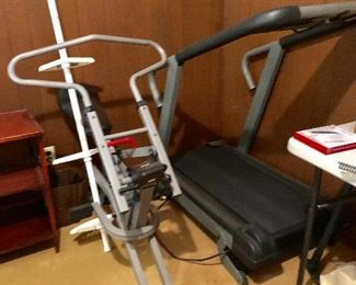 * Exercise Bike and TreadMill