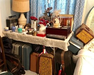 * Suitcases, Luggage, Lamps, Knick Knacks