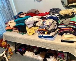 * Linens and More Clothes, Gloves, Scarves