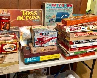 * Vintage Retro Games