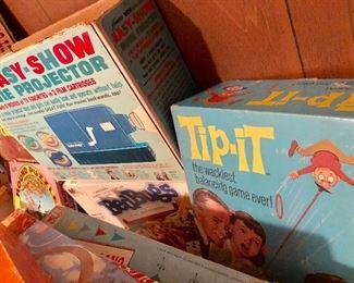 * Vintage, Retro Games