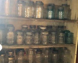 * Lots of Mason Jars