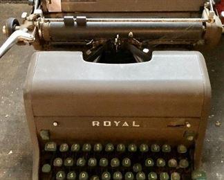 * Royal Typewriter