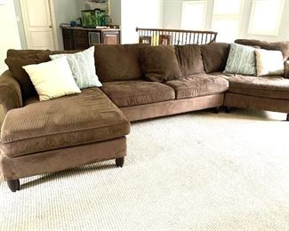 Oversized sectional sofa