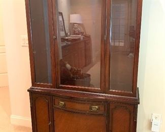 China cabinet or bookcase