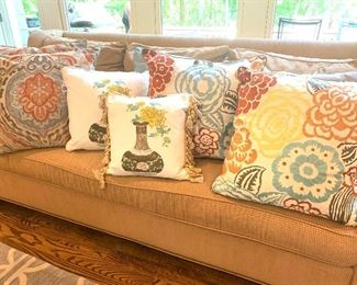 Just a small sampling of a great selection of decorative pillows.
