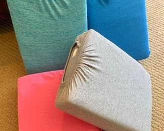 Queen size bed linens (new = factory samples)