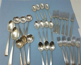 Towle Sterling Silver Flatware Old Lace Pattern