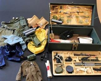 GI JOE Locker Box with Accessories