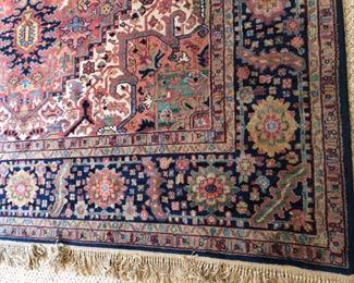 Karastan Heriz 8.8'x12' wool rug