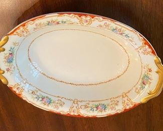 Japan Hand painted china service for 12