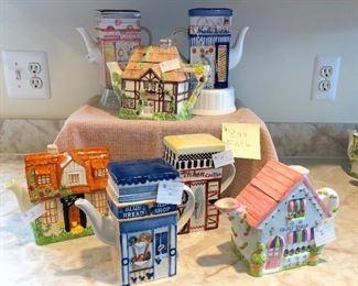 $4.00 Each Decorative Teapots