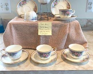 NEW PRICE TAKE 50% OFF Set of 6 Noritake Teacup and Saucer set   $30