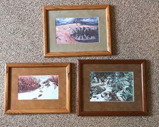 Trio of Bev Doolittle Prints