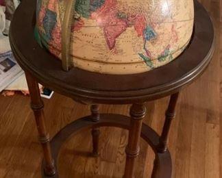 Wonderful globe.