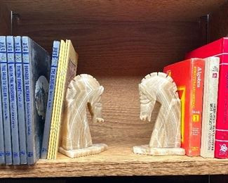 Books and book ends