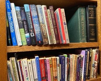 Lots of vintage and current books including biographies