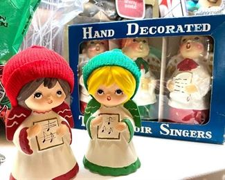 Vintage new in box Christmas Carolers