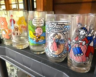Collectible character glasses