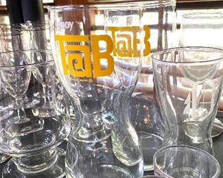 Tab collectible glasses