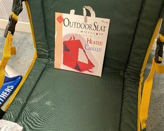 Outdoor sports seat