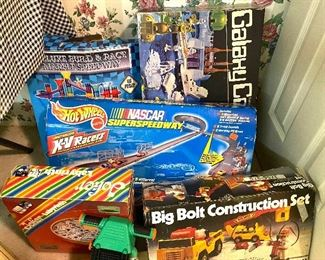 More vintage toys including hot wheels