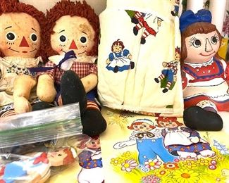 More raggedy and and Andy collectibles