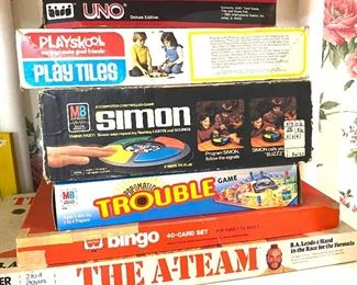 The A-Team game and others