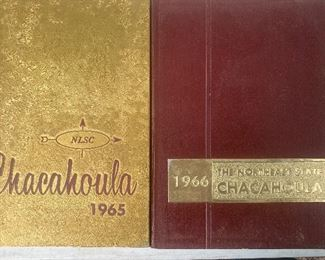 Chacahoula yearbooks