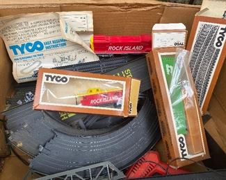 Tyco trains and track