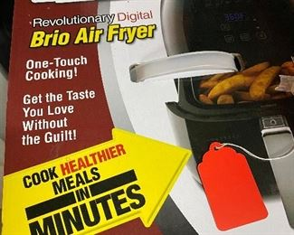 New in box air fryer