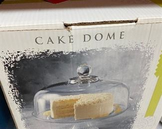 New in box cake  down