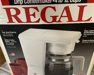 New in box coffee maker