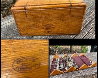 Vintage folding outbox