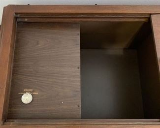 "Vintage 70's Magnavox Stereo in Cabinet. The cabinet is in good condition. The radio works, but has weak reception as there is no antenna hooked up. The turn table spins...not sure if there is a needle. Dimensions 50"" x 19"" x 28"" high $65"