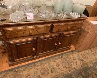 """#1 - $58 - Buffet Cabinet - 49""""W x 16.5""""D x 32""""H"""