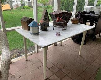 #11 - $180 - White Kitchen Table